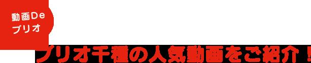 ブリオ千種の人気動画をご紹介!